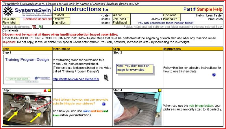 Doc585550 Instructions Template Word 10 Free Instruction – Instruction Template