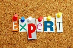 Expert pinned on noticeboard