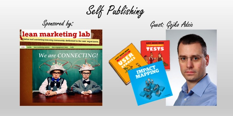Gojko on Self-Publishing