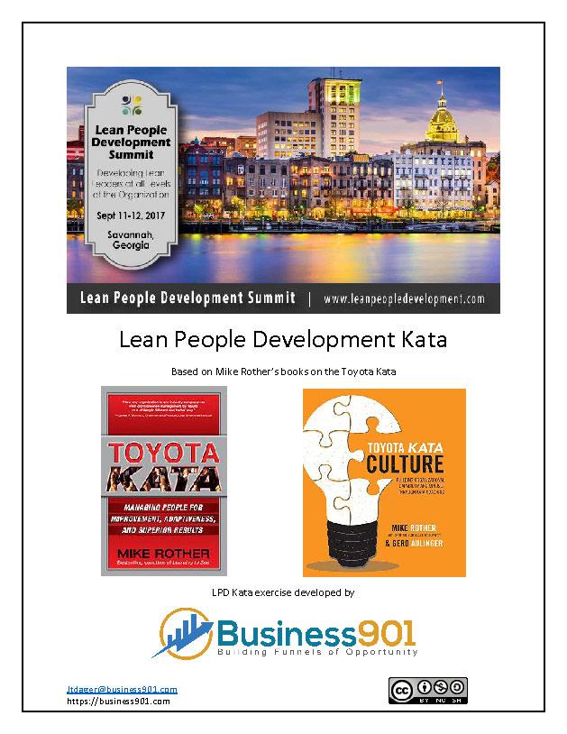 Lean People Development Kata