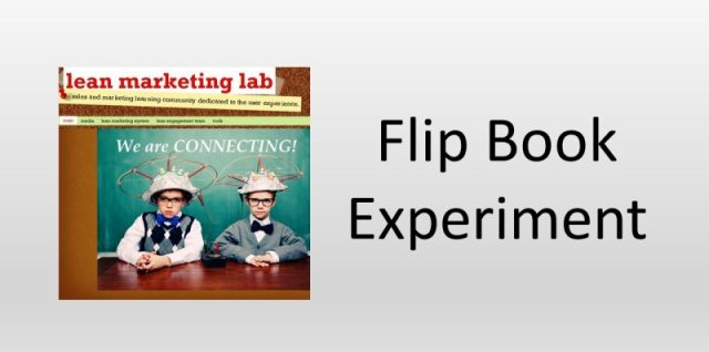 Flip Book Experiment
